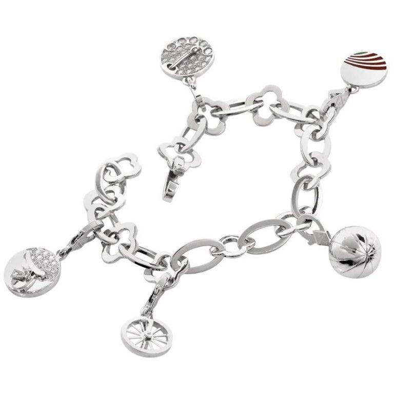 Van Cleef & Arpels Byzantine Alhambra VCA Charm Bracelet