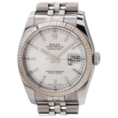 Rolex Stainless Steel Datejust self winding Wristwatch Ref 116234, circa 2010