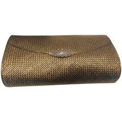 1960s French Evening Bag Diamond Platinum Gold