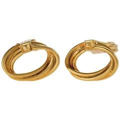 Boucheron 1970s Gold Cufflinks