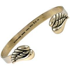 Kieselstein-Cord Gold Angel Wing Bracelet