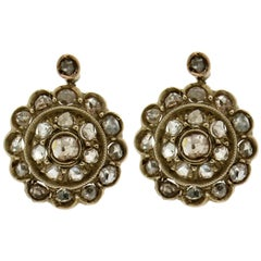 Antique 19th Century Yellow Gold Stud Earrings