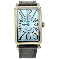 Franck Muller White Gold Long Island automatic Wristwatch Ref 950QZ