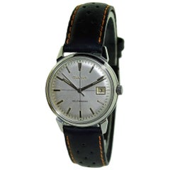 Bulova Stainless Steel Vintage Automatic Wristwatch, Circa 1960s