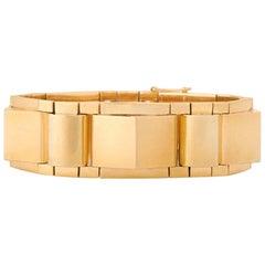 French Retro Gold Bracelet