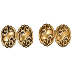 French Art Nouveau Cufflinks
