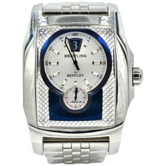 Breitling Stainless Steel Bentley Flying B automatic Wristwatch