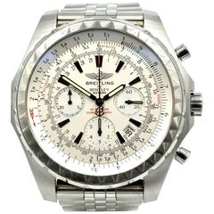 Breitling for Bentley Stainless Steel Chronograph automatic Wristwatch