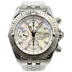 Breitling Stainless Steel Chronomat Evolution automatic Wristwatch
