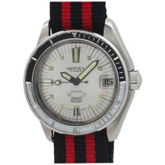 Wertex Squale Stainless Steel Diver's Self Winding Wristwatch, circa 1960