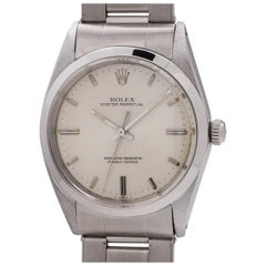 Rolex Stainless Steel Oyster Perpetual self winding wristwatch, circa 1968