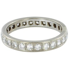Gübelin Diamond White Gold Eternity Ring