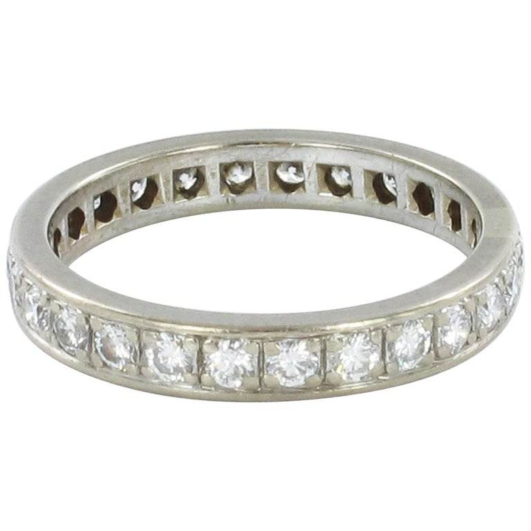 Gübelin Diamond White Gold Eternity Ring