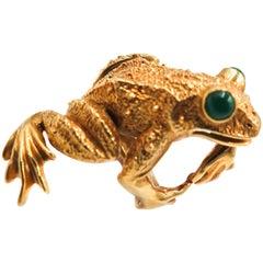 Kurt Wayne Yellow Gold Frog Ring