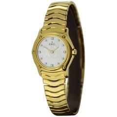 Ebel-Sport Classique Full 18 Karat Gold Wristwatch