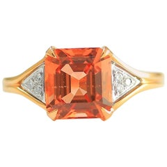 Frederic Sage 3.00 Carat Morganite One of Kind Ring