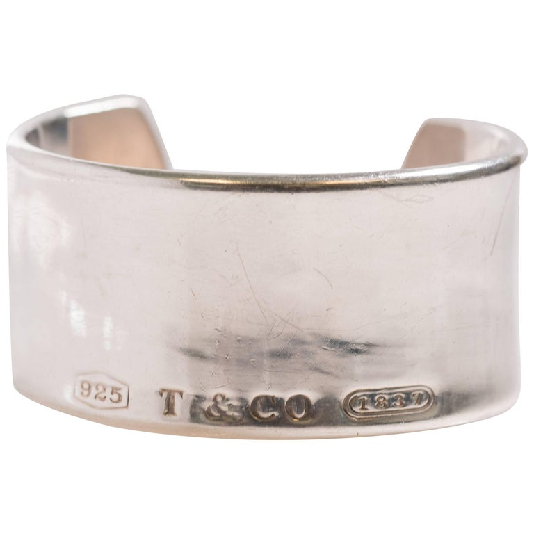 Tiffany & Co. 1837 Collection Sterling Silver Cuff Bracelet