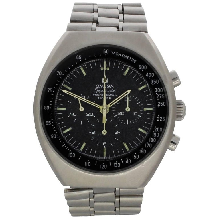 Omega Stainless Steel Speedmaster Chronograph Wristwatch, 1970