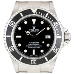 Rolex Sea-Dweller Gents Stainless Steel Black Dial 16600 Automatic Wristwatch