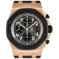 Audemars Piguet Rose Gold Royal Oak Offshore Automatic Wristwatch