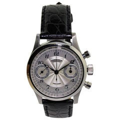 Marcus by Gallet and Co. Stainless Steel Chronograph Manual Wristwatch
