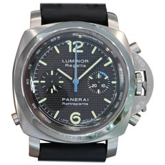 Panerai Stainless Steel Pam 286 Luminor Regatta Rattrapante Wristwatch, 1950