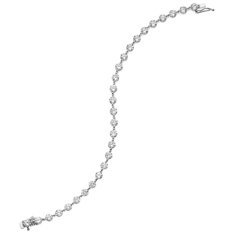 Emilio Jewelry 4 30 Carat Signature Single G Endless Diamond Bracelet