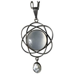 Liberty and Company Antique Moonstone Necklace