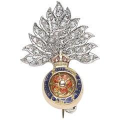 British Royal Fusiliers Badge