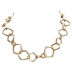 Frank Gehry by Tiffany & Co. Square Link Necklace