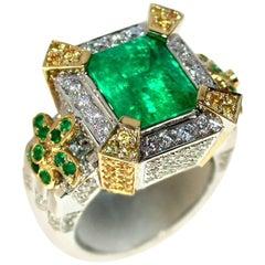 5 Carat Emerald Ring