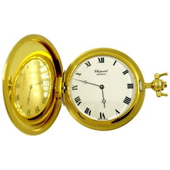 Chopard Yellow Gold manual wind Pocket Watch