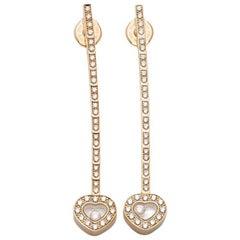 Chopard Happy Diamonds Drop Earrings