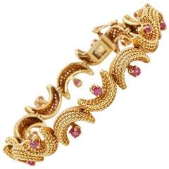 Tiffany & Co. Ruby Vintage Bracelet