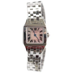 Cartier Ladies Santos Demoiselle Tank Quartz Wristwatch, 2017