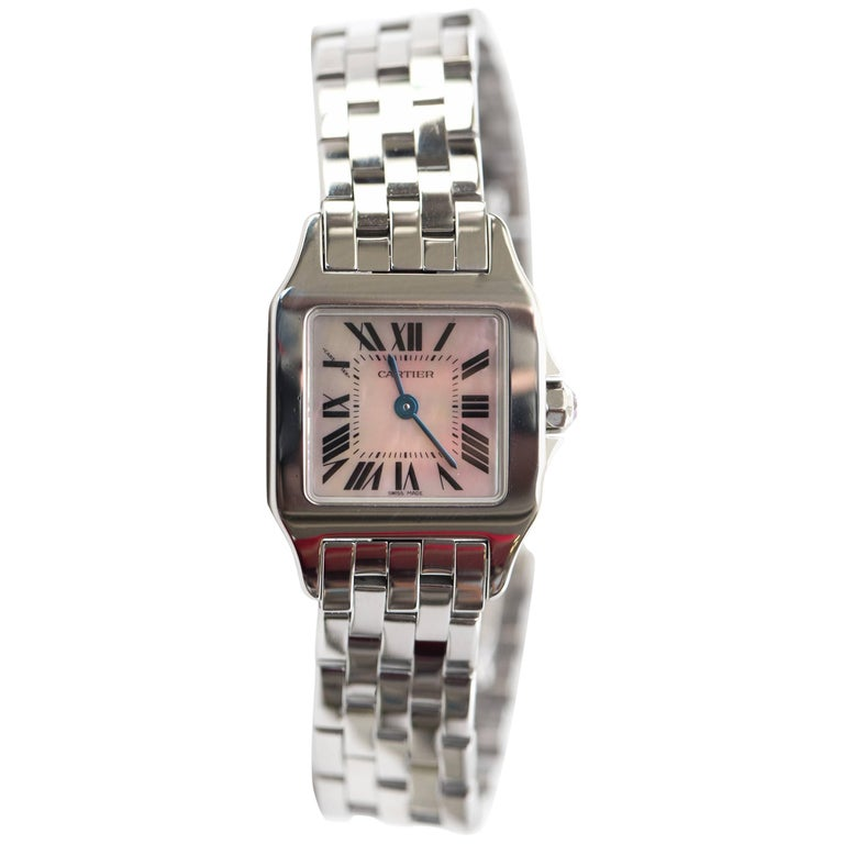 Cartier Ladies Santos Demoiselle Tank Quartz Wristwatch, 2017