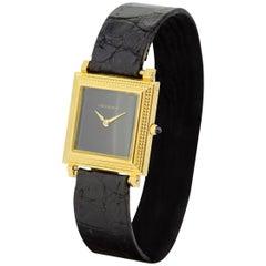Boucheron, Vintage 18 Karat Gold Ladies Manual Wristwatch, 1970s
