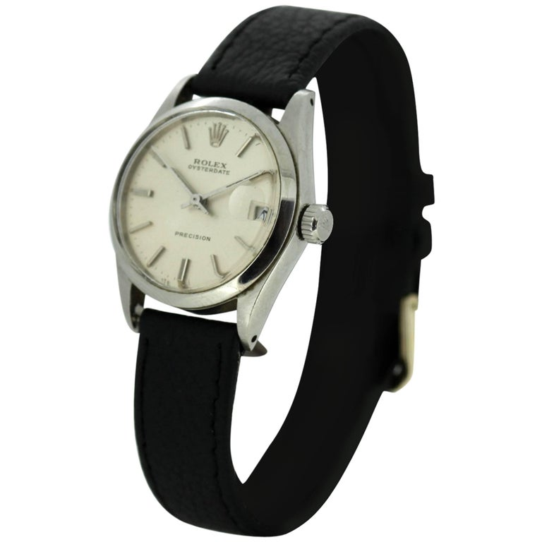 Rolex Oysterdate Precision - Manual Winding Wristwatch, circa 1960s For Sale
