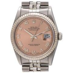 Rolex Datejust ref# 16234 SS/18K WG circa 1990