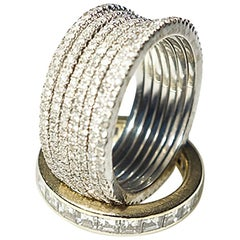 Clarissa Bronfman Stackable Diamond Rings