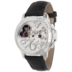 Zenith Starissime Star Open Love 45.1232.4021 Ladies Diamond Watch in Gold