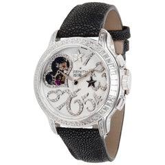 Zenith Starissime Star Open Love 45.1232.4021 Ladies Diamond Watch in Gold