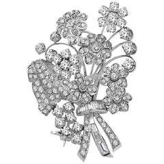 Emilio Jewelry 4.70 Carat Handmade Brooch or Pendant