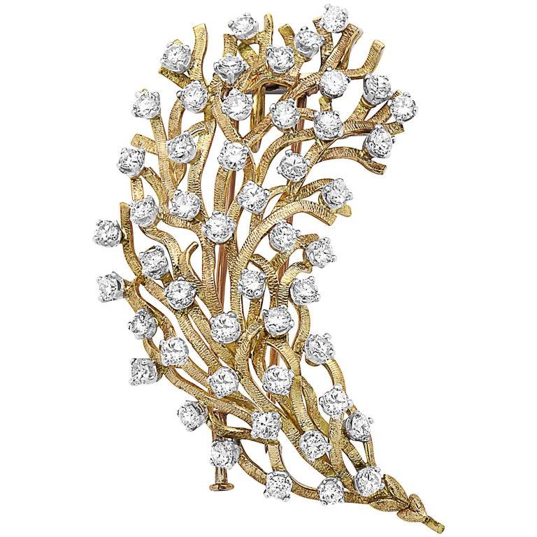 Emilio Jewelry Handmade Tree of Life Brooch For Sale