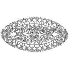 Emilio Jewelry Diamond Brooch