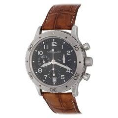 Breguet Stainless Steel Transatlantic Chronograph Automatic Wristwatch