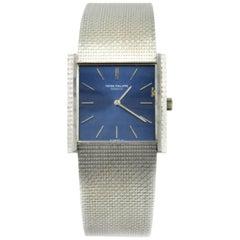 Patek Philippe White Gold Mechanical Dress Wristwatch, circa 1971, Ref 3570-1