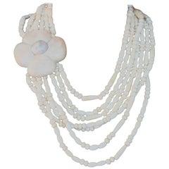 Antiques White Degradè Necklace