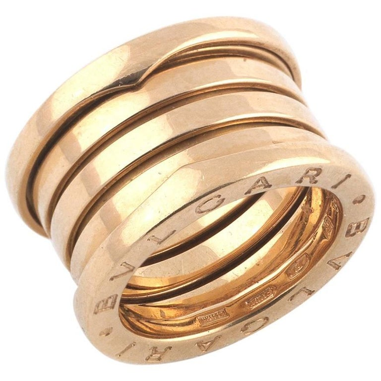 Bulgari B-Zero Four Band Ring