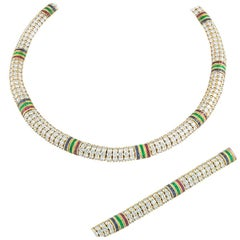 Van Cleef & Arpels Diamond Line Jewellery Suite